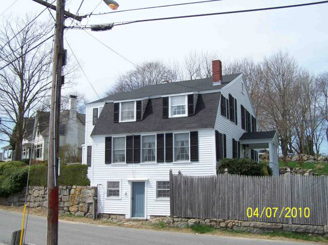 Chard House, 32 River Rd, c 1750 Gloucester MA