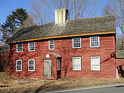 Benjamin Abbot House, 9 Andover St. Andover MA c 1685