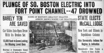 Fort Point Channel trolley disaster