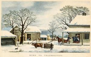 Home to Thansgiving in New England
