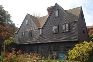 The John Ward house in Salem MA