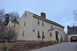 Carlton – Frie – Tucker House, 140 Mill Rd. North Andover MA c 1709