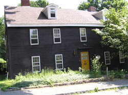 ames Foster House 46 Summer St. Ipswich MA c 1720