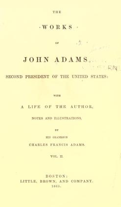 works_of_john_adams