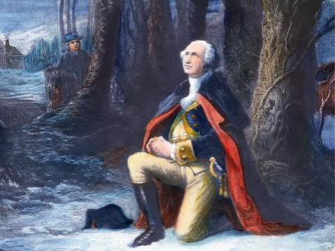 george_washington_kneeling