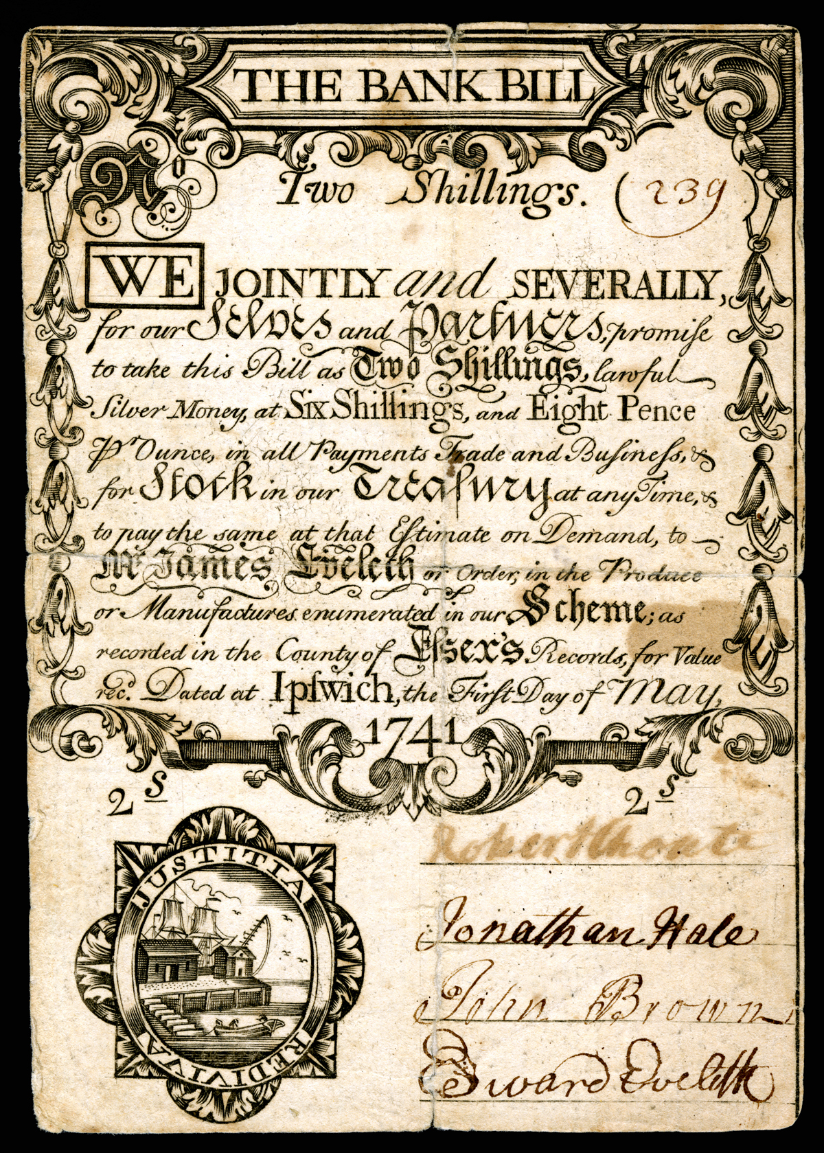 Ipswich land bank currency