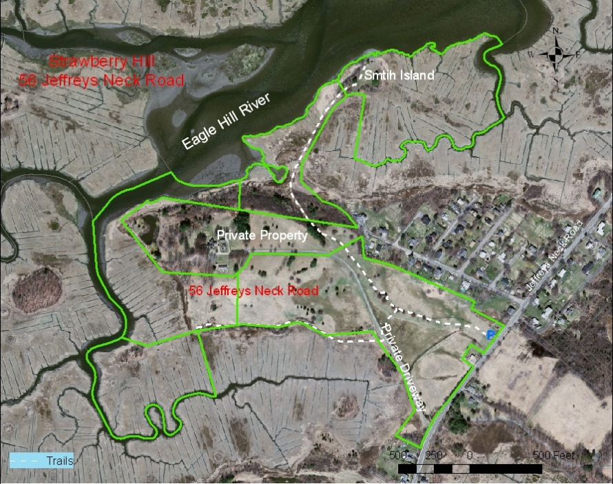 Map of the Strawberry Hill Conservation Area