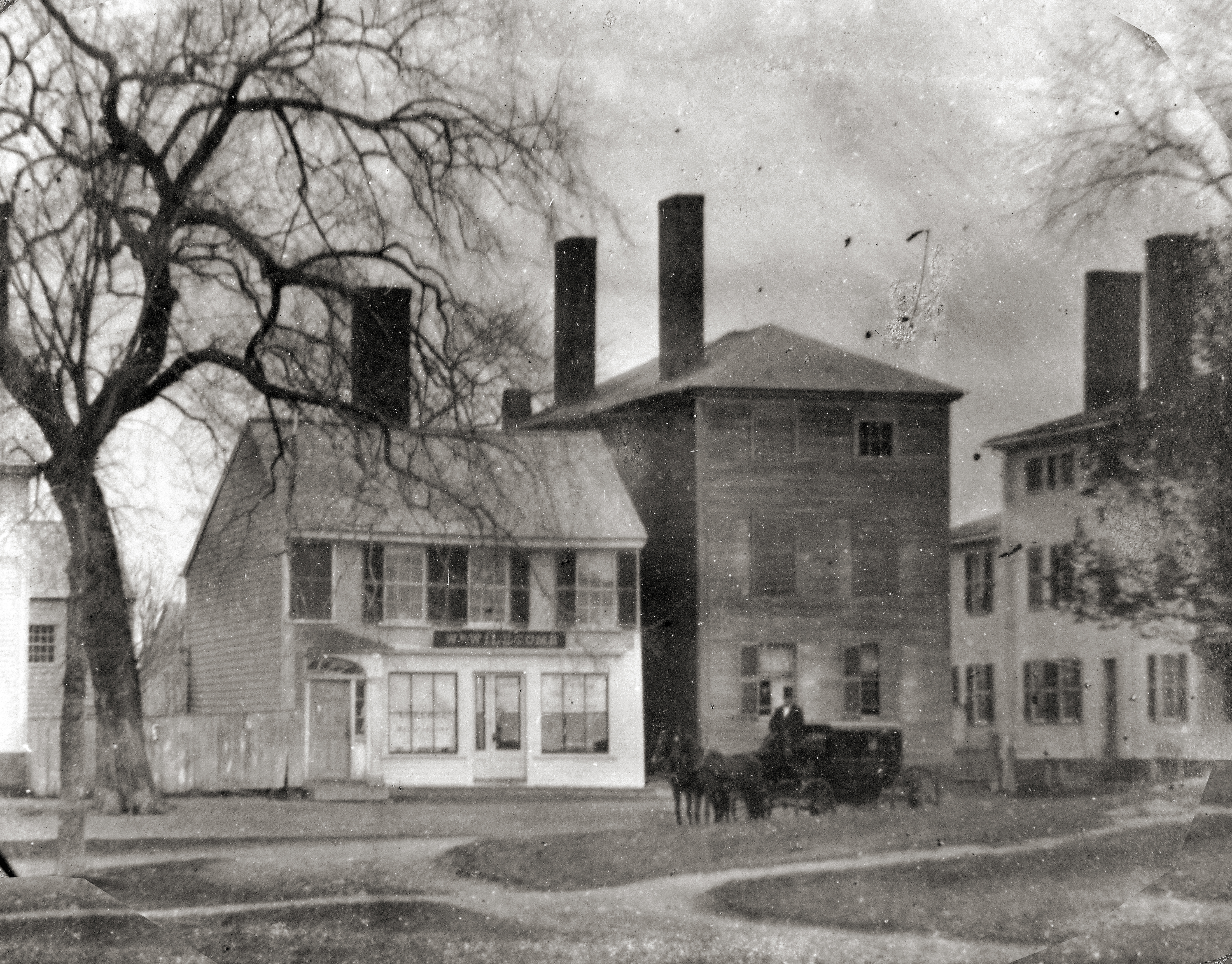 The Willcomb house on N. Main St.