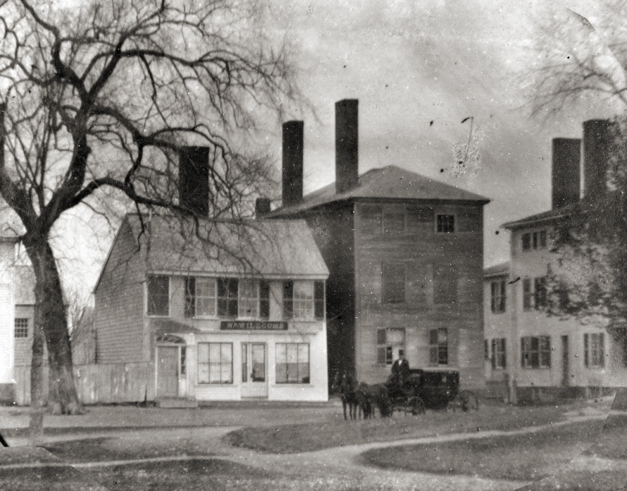 N. Main St. in the mid-19th Century