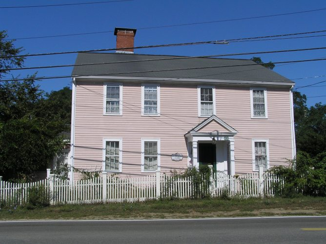 Captain John Smith house, 68 Jeffreys Neck Road
