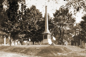 Civil War Memorial in Ipswich MA