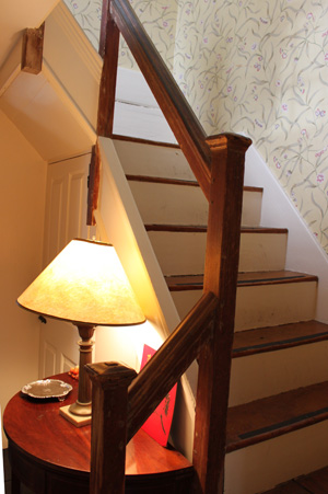 Stairway at the Heard - Lakeman house in Ipswich MA