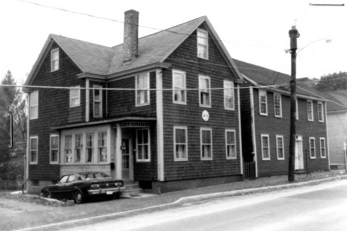 Thomas Morley house, 48 North Main St. in Ipswich. Photo from the MACRIS site