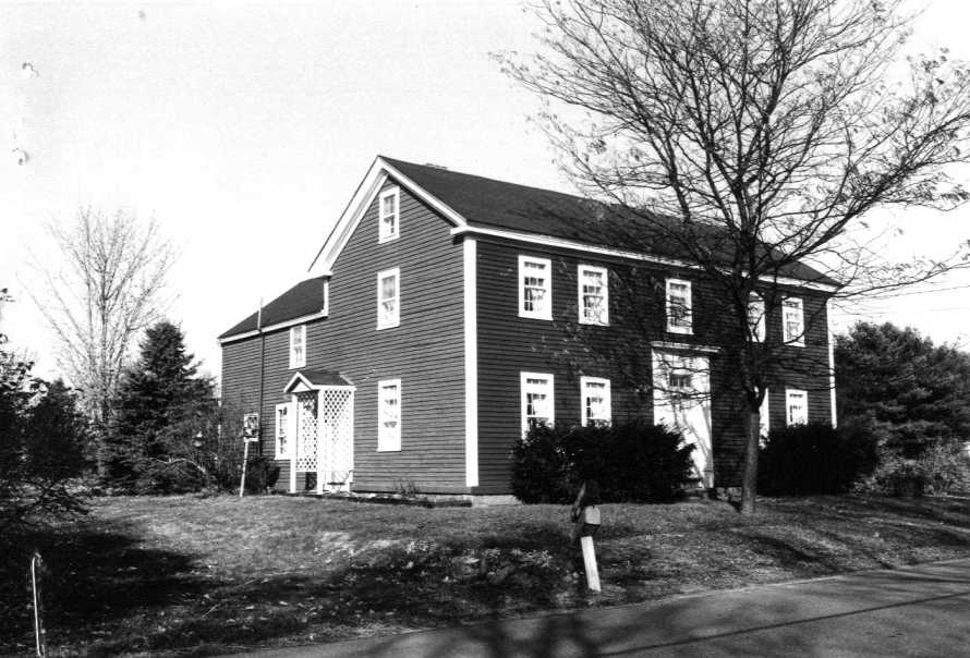 Timothy Morse house, from the MACRIS site