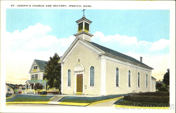 The St. Joseph's Church and Rectory. The congregation merged with Our Lady of Hope Parish and the building is now St. John Russian Orthodox church.