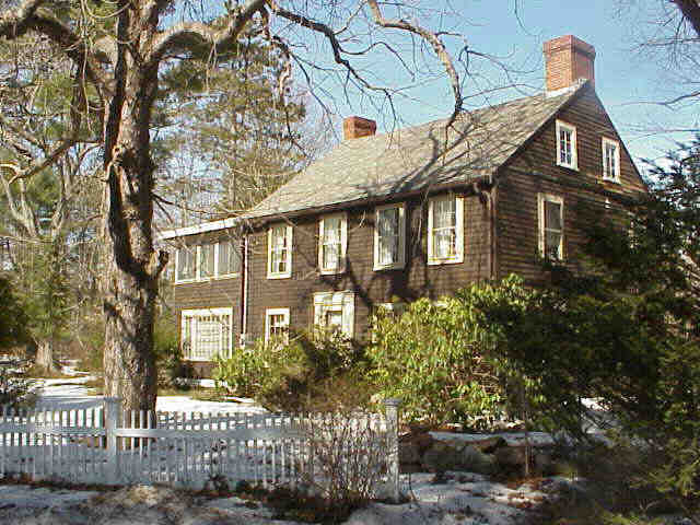 Amos Perley House, Kelsey Rd., Boxford MA