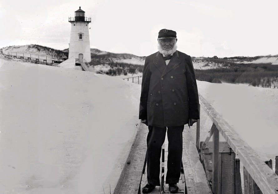 Benjamin Ellsworth lighthouse keeper, early photos from Ipswich Massachusetts