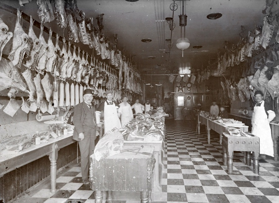 Butcher shop early photos from Ipswich Massachusetts