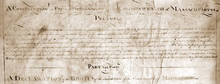 Constitution of the Commonwealth of Massachusetts
