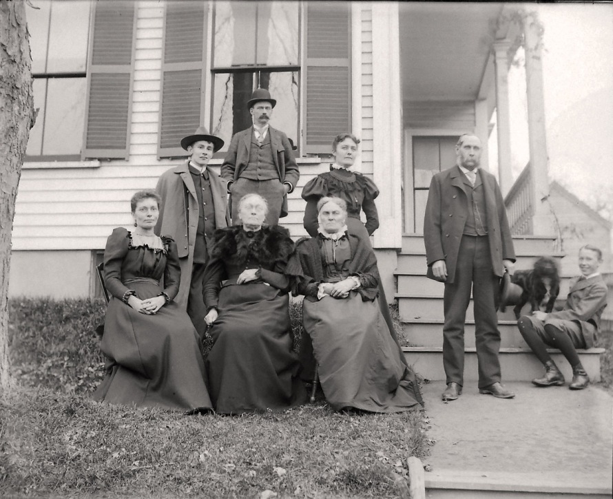Holmes family, Ipswich ma historic photos