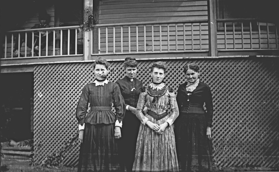 women at Little Neck historic photo Ipswich MA