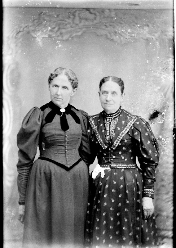 Two women old photo Ipswich MA