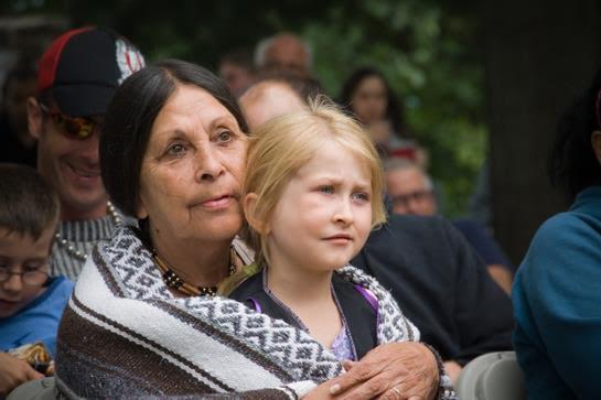 Members of a Quebec tribe