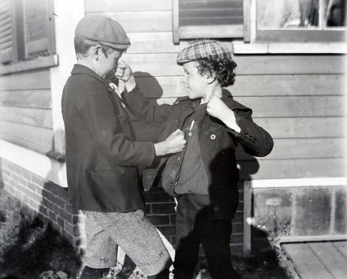 Two boys, early photos from Ipswich Massachusetts