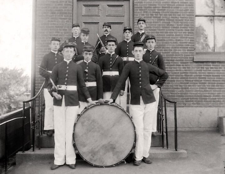 Boys in the band, early photos from Ipswich Massachusetts