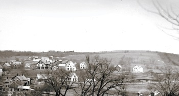 Early photo of Mount Pleasant, Ipswich MA