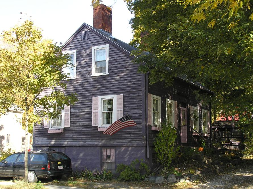 Moses Jewett house, High Street Ipswich MA