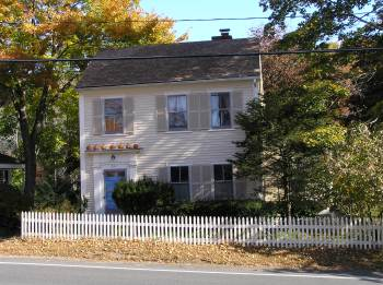 Apphia Jewett house, High Street, Ipswich Ma