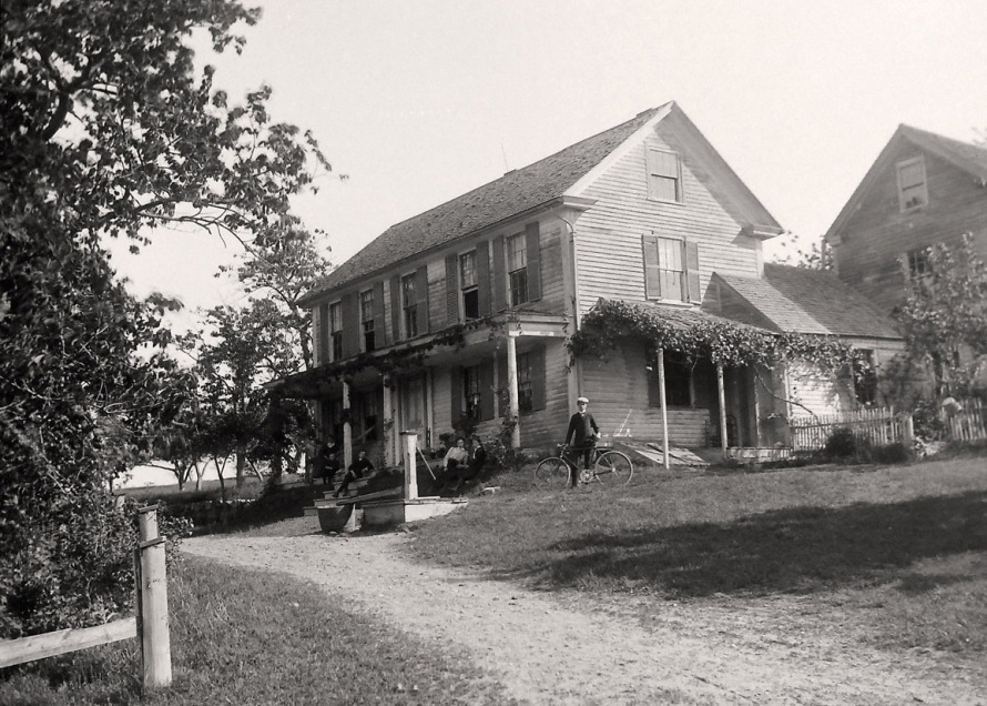A.B. Fellows at his home, which was at the entrance to the Proctor Estate