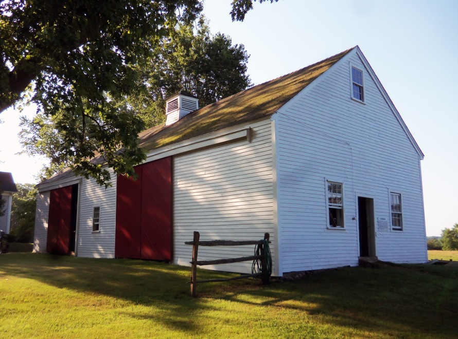 The John Manning III barn on Lakemans Lane