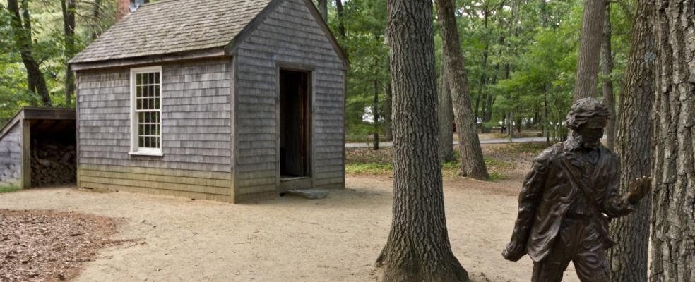 Henry David Thoreau;s cabin