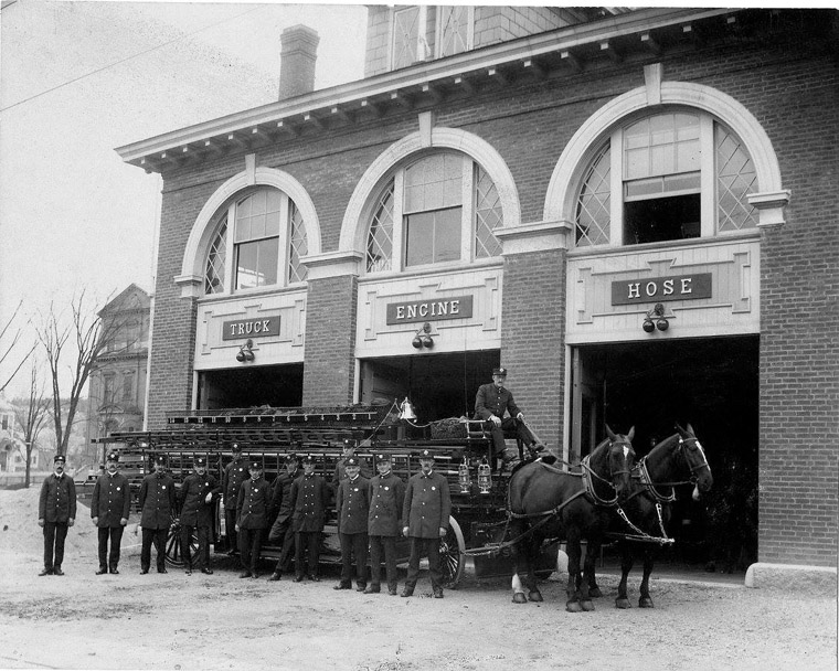 Ipswich Central St. fire station