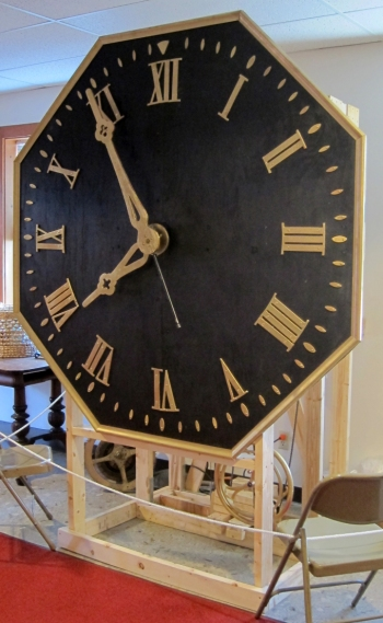 first-church-clock