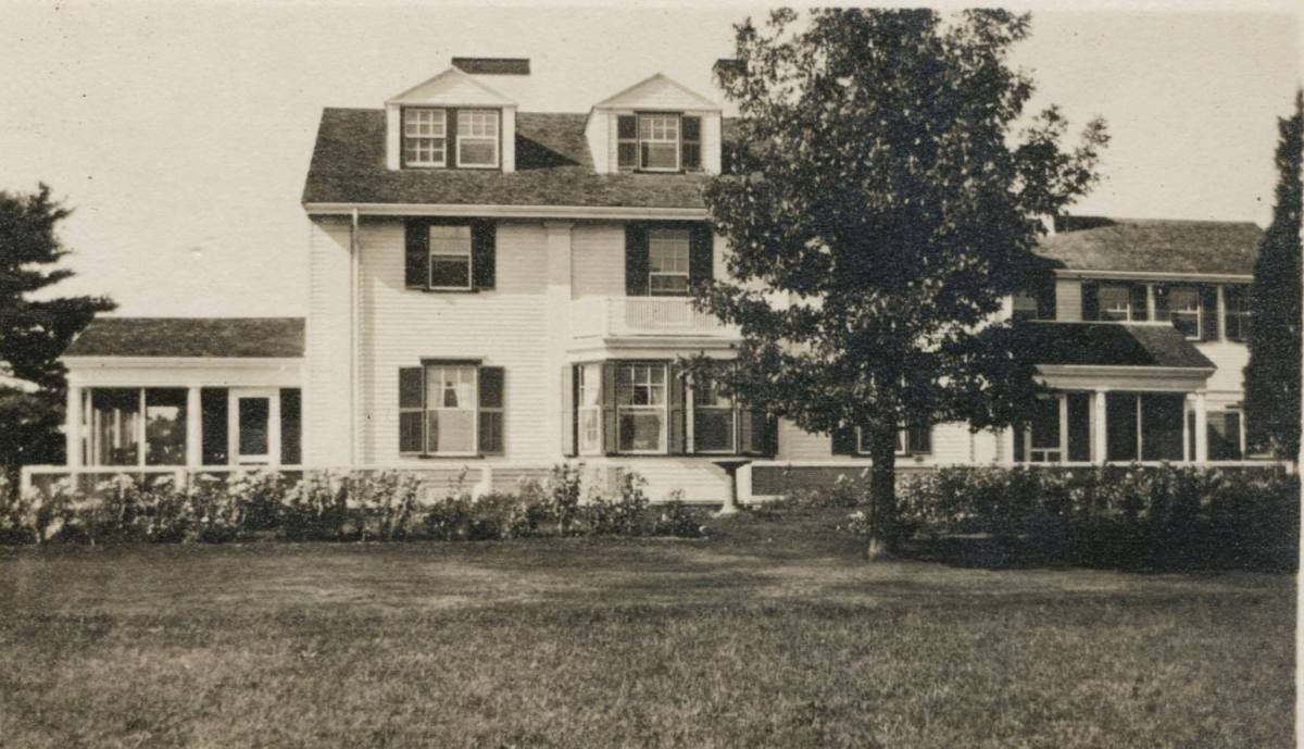Holiday Hill, The William and Violet Thayer house, 44 Mill Rd.