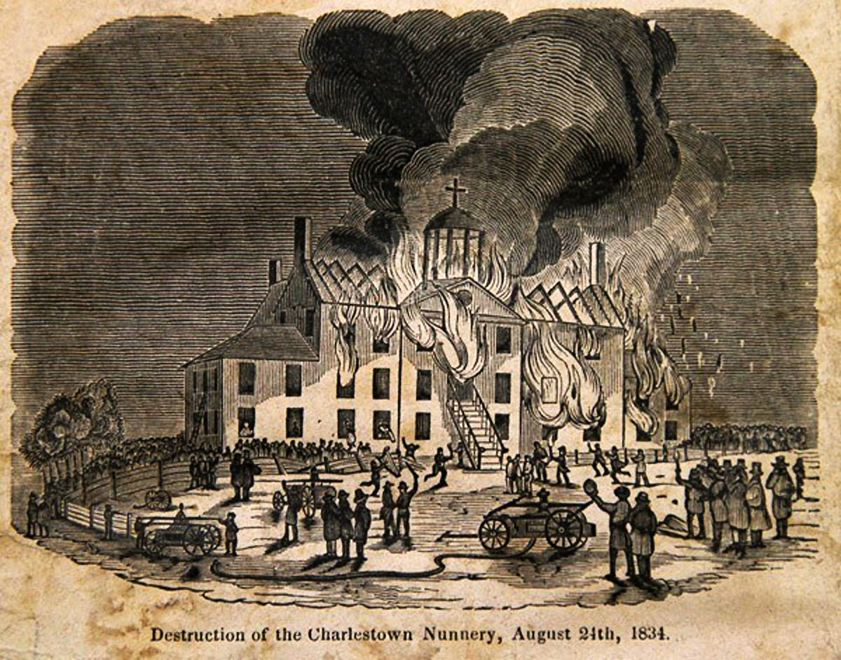 Boston Irish Long Remembered the 1834 Charlestown Convent Fire – Historic  Ipswich