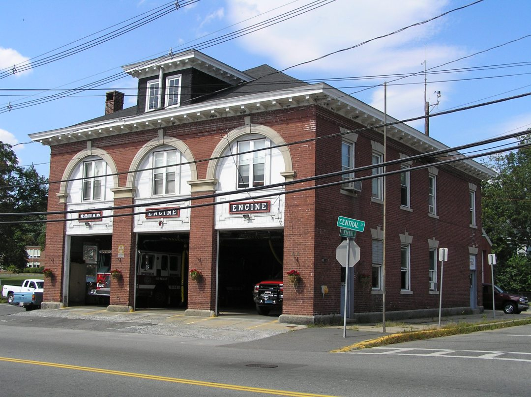 Ipswich MA Central Street Fire Station