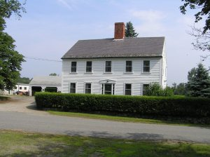 Josiah Brown farm house, Fellows Road, Ipswich MA
