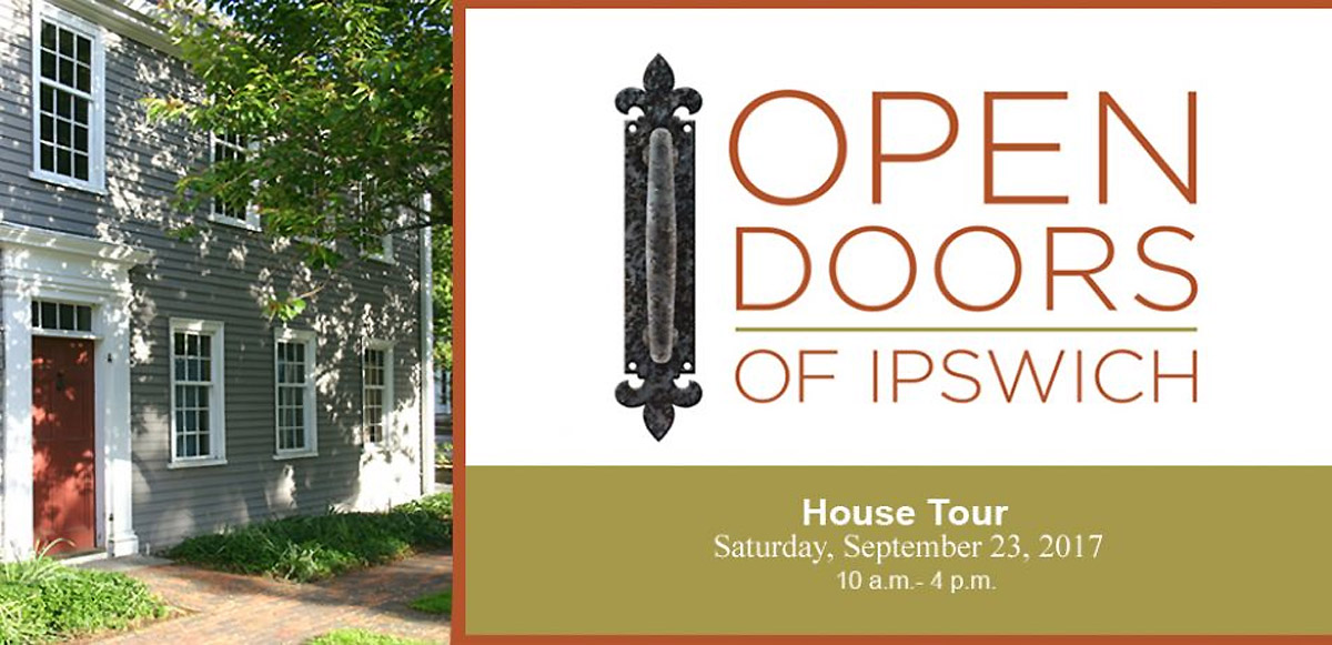 Open Doors of Ipswich will feature 5 historic houses