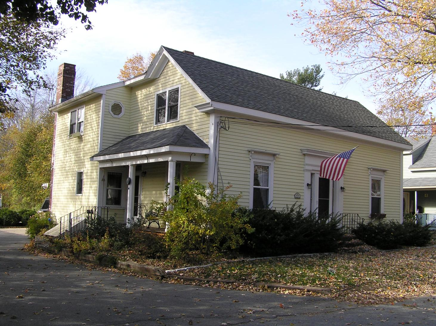 114 High Street, the Tibbets-Fowler house (1860)
