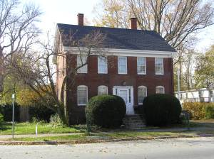 124 High Street, the Joseph King House, Ipswich MA
