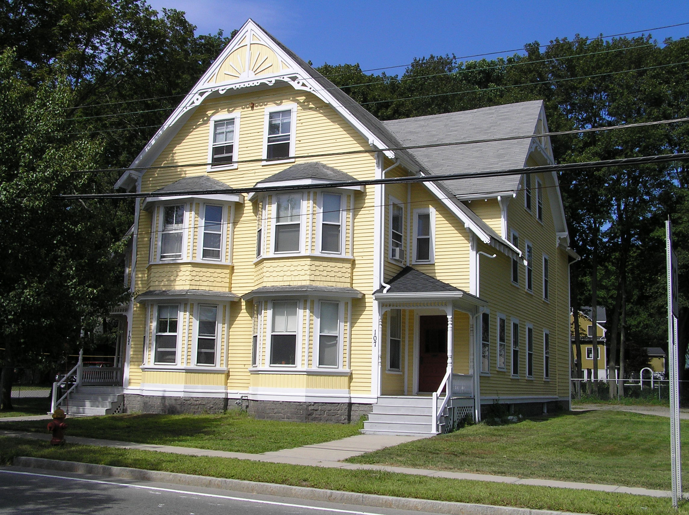107 Central Street, the Collins house