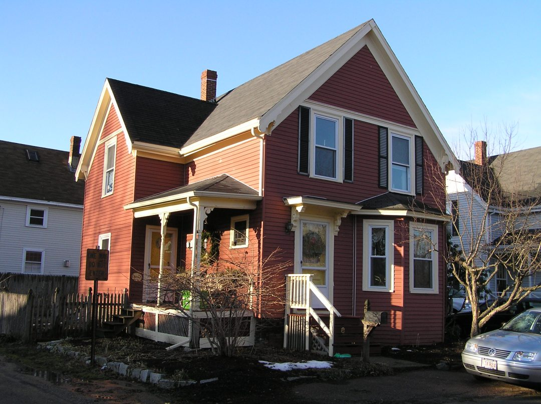 8 Brown Street, the Timothy Carey house