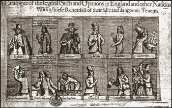 A Catalogue of the Various Sects in England and Other Nations with a brief rehearsal of their false and damgerous tenenants