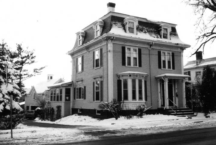 W L Johnson house, 88 Central St., Ipswich MA