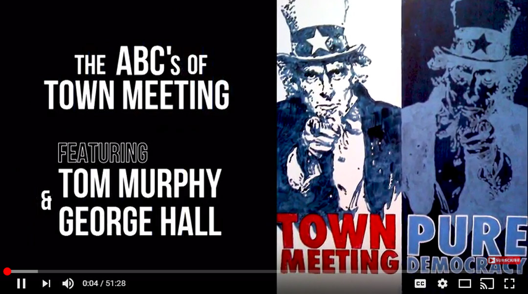 The ABCs of Town Meeting