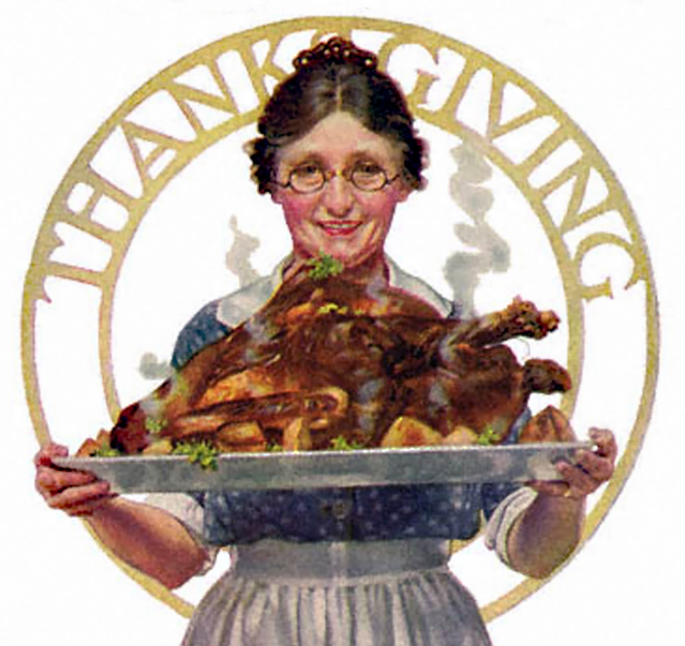 Norman Rockwell Depicted an Idealized Version of American Thanksgiving